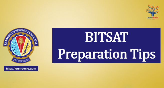 BITSAT Preparation Tips