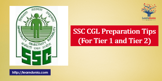 SSC CGL Preparation Tips