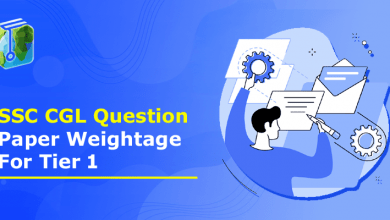 SSC CGL Question Paper Weightage For Tier 1