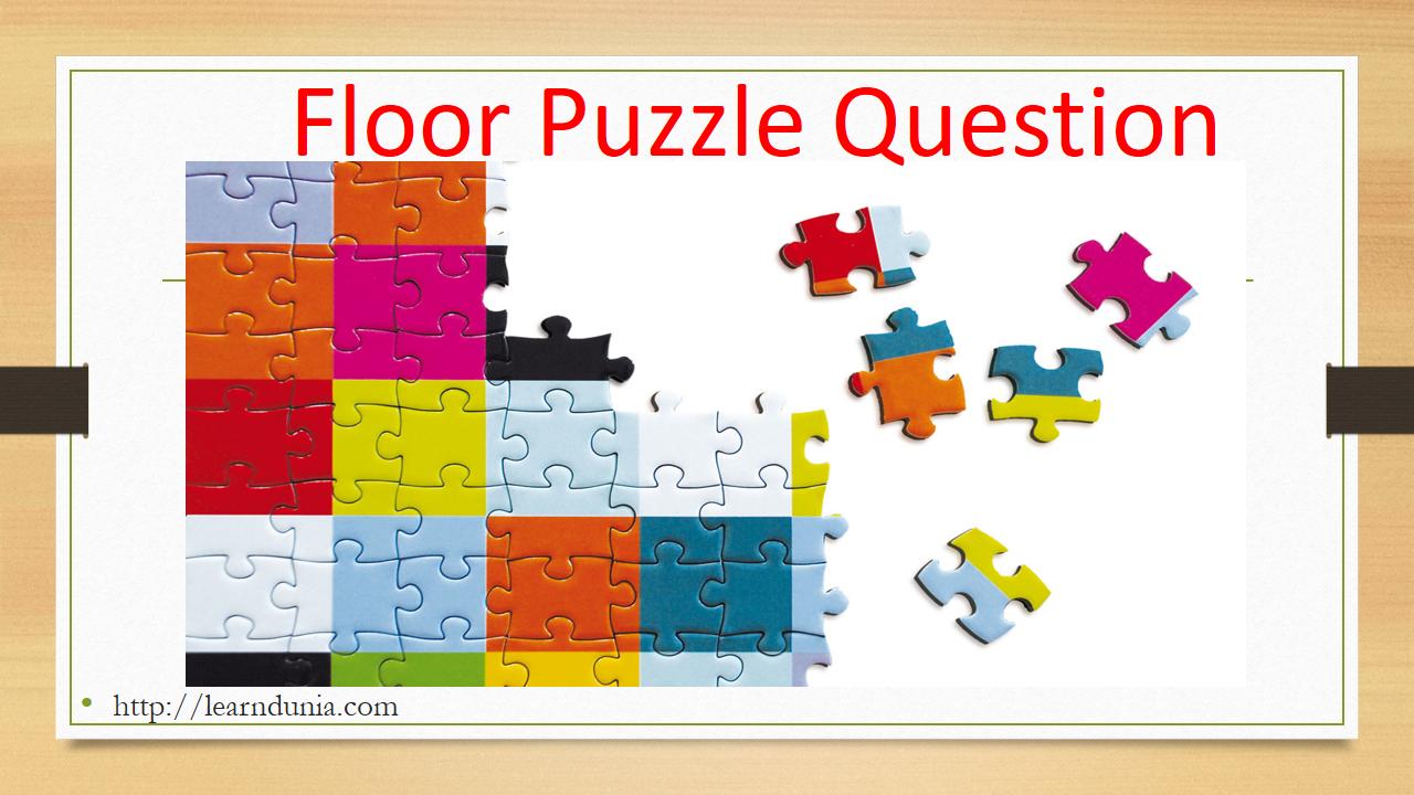 Floor Puzzle- learndunia.com