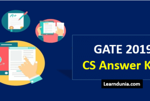 Gate CS Answer Key