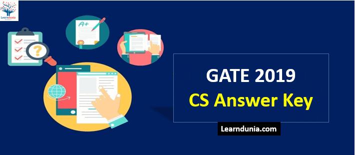 Gate CS Answer Key