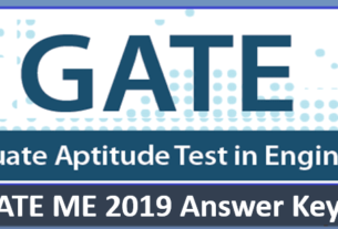 GATE ME Answer Key