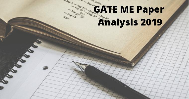 GATE ME Paper Analysis