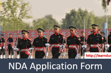 NDA Application Form