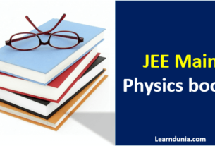 JEE Main Physics Books