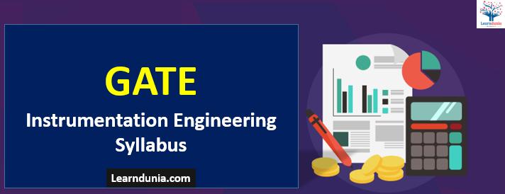 GATE Instrumentation Engineering Syllabus (IN)