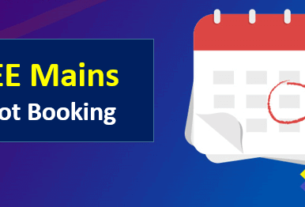 JEE Main Slot Booking