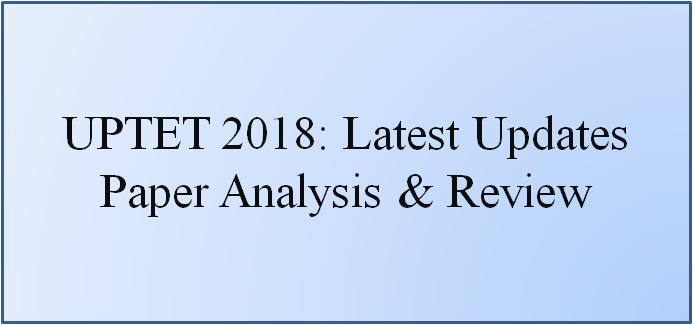 UPTET Paper Analysis
