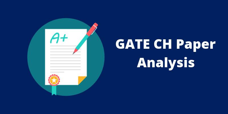 GATE CH Paper Analysis
