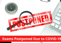 Exams Postponed Due to COVID-19