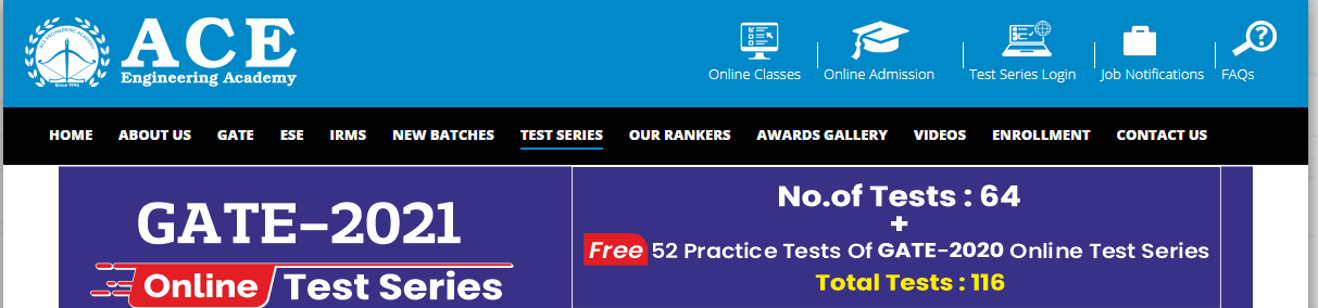 GATE Mock Tests by ACE Academy