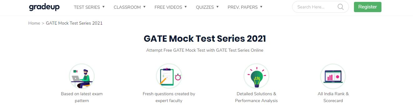 GATE Mock Tests by Gradeup